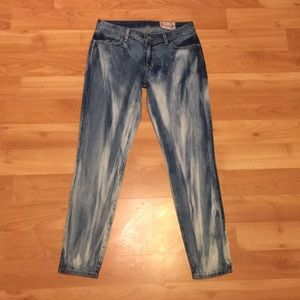 Siwy Hannah cropped wipeout jeans